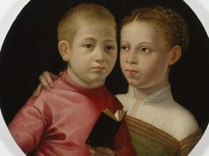 Sunday Object Talk: Double Portrait of a Boy and Girl of the Attavanti Family
