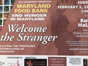 Kolot Halev--Jewish Community Chorus Concert benefitting Maryland Food Bank