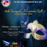 Fil-Am Association of SCV - 36th Inaugural Ball