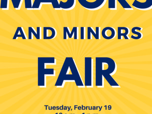 Majors & Minors Fair