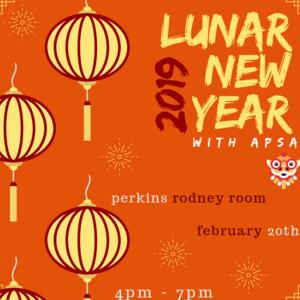 Lunar New Year Celebration with APSA