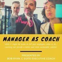Manager as Coach- Professional Development Week 2019