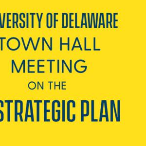 UD's IT Strategic Plan Town Hall Meeting