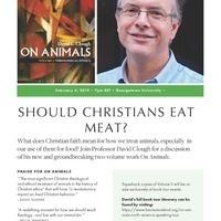 """Should Christians Eat Meat?"""