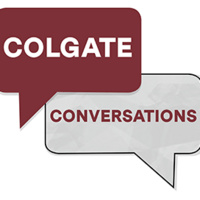 """Colgate Conversations: """"Art and Conflict: A Conversation with Dawn Weleski"""""""