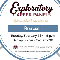 Careers in Research Panel