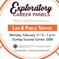 Careers in Law & Public Service