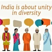 India is about Unity in Diversity