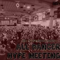 Dance Marathon: All Dancer Hype Meeting