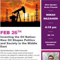 Efron Speaker Series presents: Inventing the Oil Nation | International Affairs