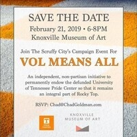 Vol Means All Campaign Event