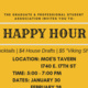 Graduate Student Appreciation Week Happy Hour