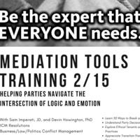 Mediation Tools Training
