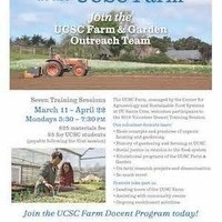 Volunteer tour guide training at the UCSC Farm