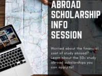 Study Abroad Scholarships Info Session