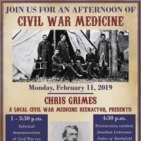 Civil War Medicine Demonstration and Lecture
