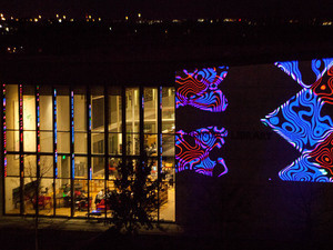 Family Night Lights Display