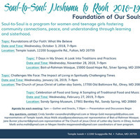 Soul to Soul: Celebration of Food & Songs