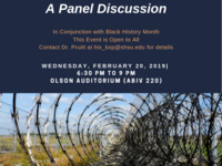 Race and Mass Incarceration:  A Panel Discussion