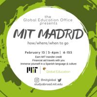 MIT Madrid Info Session
