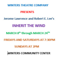 Inherit The Wind @ Winters Theatre Company