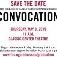 Spring 2019 FACS Convocation