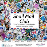Pen Pals Snail Mail Group - Martha's Vineyard Calendar