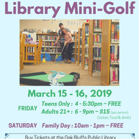Library Mini Golf for Adults
