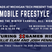 Winter Carnival Snowmobile Freestyle Show