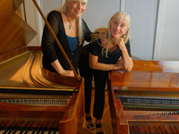 Duo Piano Concert | A Perfect Match - Music and Instruments | Monica Jakuc Leverett and Margaret Irwin-Brandon, fortepianos