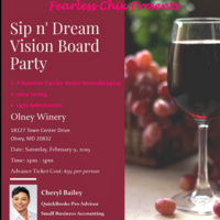 Sip n' Dream Vision Board Party