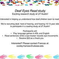 Paid Research Opportunity ages 10-13