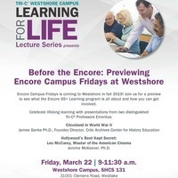 Before the Encore: Previewing Encore Campus Fridays at Westshore