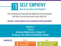 Empathy Workshop Series Session 1: Self Empathy