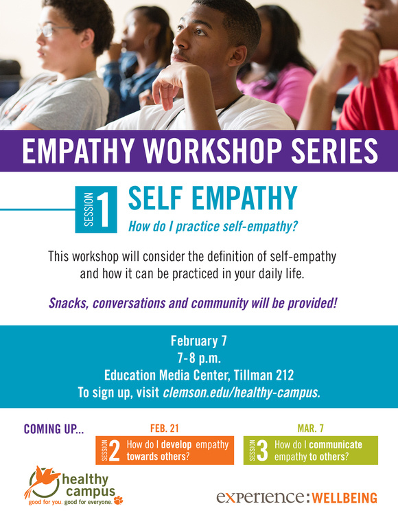 Empathy Workshop Series Session 1: Self Empathy