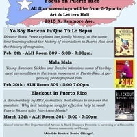 CLR Film Series: Blackout in Puerto Rico