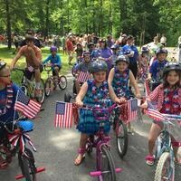 Children's Decorated Bicycle Parade at Crooked Run Campground
