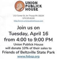 Tithing Tuesday to Benefit the Friends of Beltzville