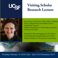 Visiting Scholar Research Lecture | Irene Tracey, MA (Oxon), DPhil, FRCA, FMedSci