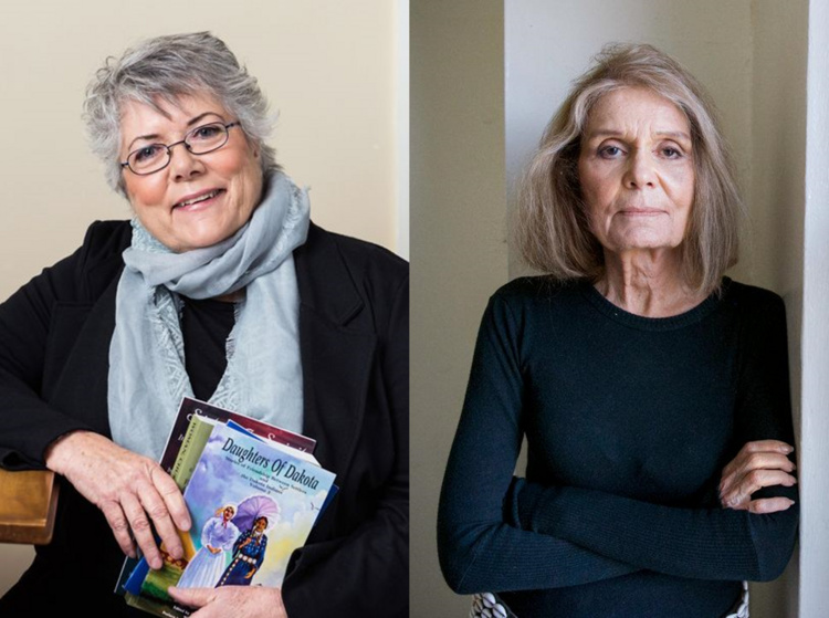 Strand at The New School: Sally Roesch Wagner & Gloria Steinem
