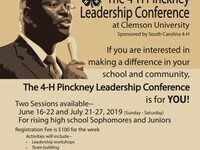 4H Pinckney Leadership Conference
