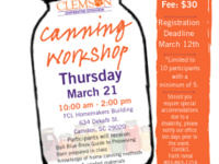 Pressure Canning Workshop