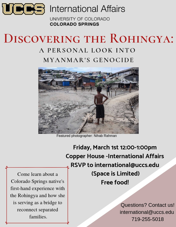 Discovering the Rohingya: A Personal Look into the Myanmar Genocide