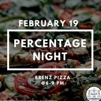 NAACP Percentage Night @ Brenz Pizza