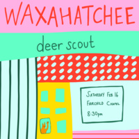 Concert Board Presents: Waxahatchee with Deer Scout at Fairchild