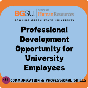 HR Training Opportunity: Customer Service in a University Setting