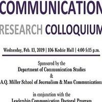 Communication Research Colloquium