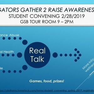 Gators Gather 2 Raise Awareness Student Convening 2019