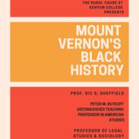Mount Vernon's Black History