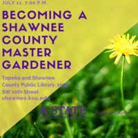 Becoming a Shawnee County Extension Master Gardener